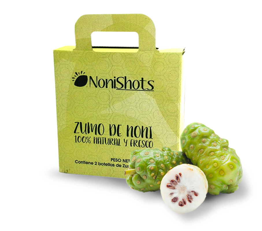Eco noni juice Nonishots for 1 month intakes.