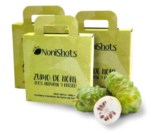 Packs Nonishots zumo de noni 3 meses